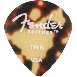 Fender 551 Shape Tortuga™ Picks — 6-Pack