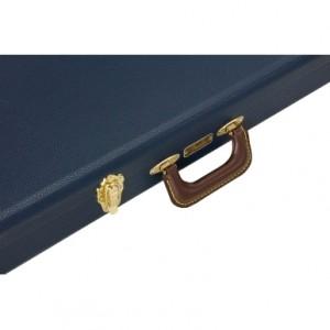 Fender Classic Series Wood Case Strat/Tele, Navy Blue