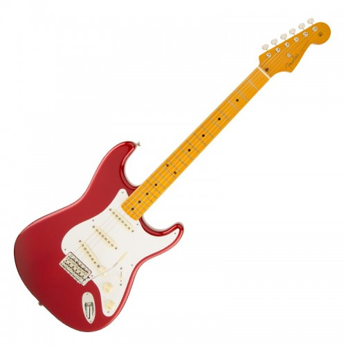 Fender 0140061709 Classic Series '50s Stratocaster Lacquer Maple Fingerboard Electric Guitar - Candy Apple Red