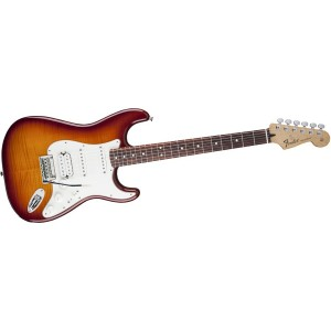 Fender 0144730352 Deluxe Stratocaster Plus Top HSS with iOS - RW TBS
