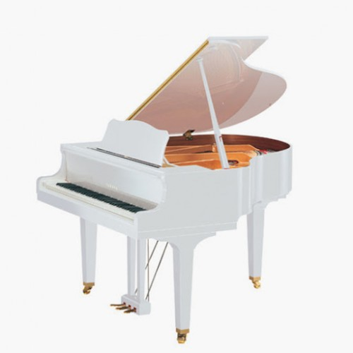 Yamaha Grand Piano GC1 PWH - Polished White