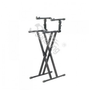 DF036 Double Keyboard Stand
