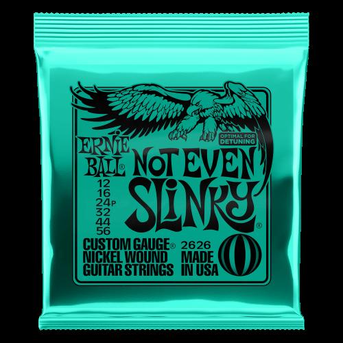 Ernie Ball P02626 - Not Even Slinky Nickel Wound Electric Guitar Strings - 12-56 Gauge