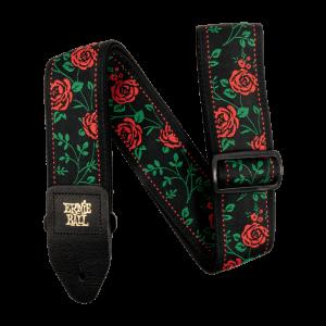 Ernie Ball Spanish Rose Jacquard Strap - P05318