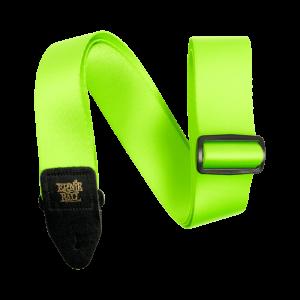 Ernie Ball Neon Green Premium Strap - P05320