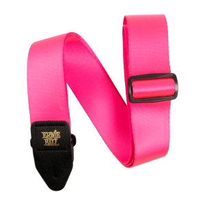 Ernie Ball Neon Pink Premium Strap - P05321
