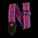 Ernie Ball Royal Flush Red Jacquard Strap - P05330