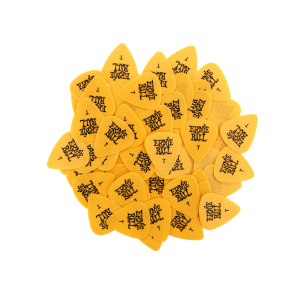 Ernie Ball Thin Yellow Cellulose Picks, bag of 144