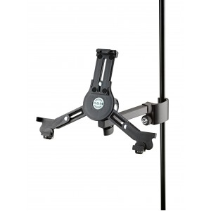 K & M Tablet PC Holder W Clamping Prism