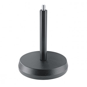 K & M Table microphone stand 3/8 - Black
