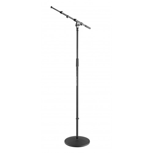K & M Microphone Stand With Boom Arm