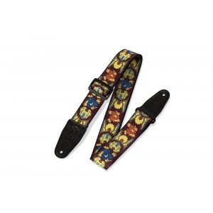 Levy's 2''Polyester Guitar Strap With Printed Design - MP25
