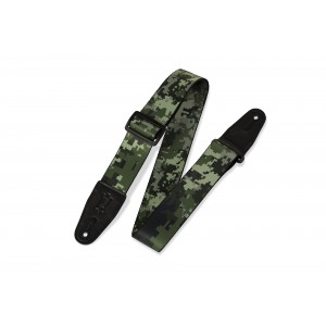"""Levy's 2"""" Sublimation Printed Guitar Strap With Genuine - MPS2121"""