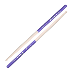 DRUMSTICKS 5A NYLON PURPLE DIP