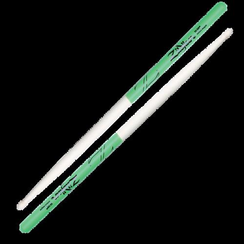 Zildjian DRUMSTICKS 5A MAPLE GREEN DIP