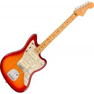 Fender American Ultra Jazzmaster, Maple Fingerboard, Plasma Red Burst