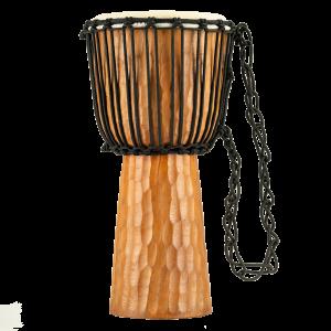 "Meinl Percussion 10"" Rope Tuned Headliner® Series Wood Djembe, Nile Series"