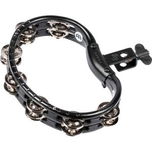 Meinl Percussion Traditional Mountable ABS Tambourine - Black