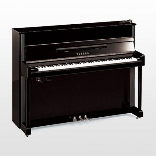 Yamaha JX113TSC2PE, Silent Series Upright Piano - Polished Ebony