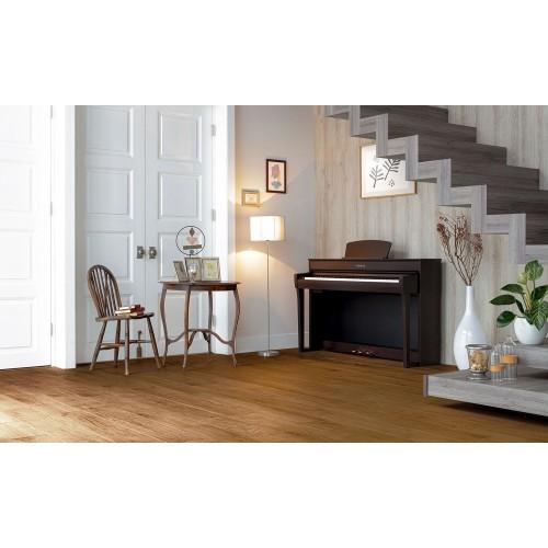 Yamaha Clavinova CLP-735R Digital Upright Piano - Dark Rosewood