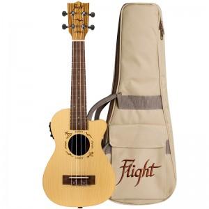 Flight DUC328 CEQ SP/ZEB Electro-Acoustic Concert Ukulele