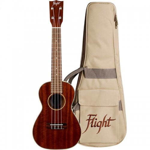 Flight MUC2 Solid Mahogany Concert Ukulele