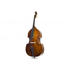 STENTOR DOUBLE BASS FLAT BACK SOLID TOP4/4