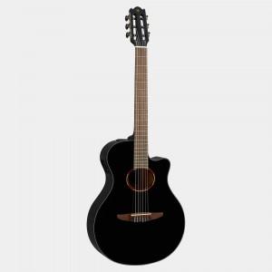 Yamaha electric acoustic guitar Black