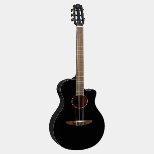Yamaha electric acoustic guitar Black