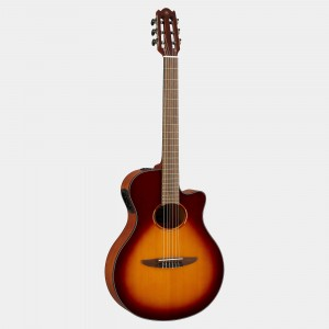 Yamaha electric acoustic guitar Brown Sunburst