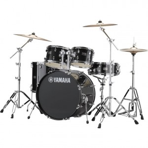 Yamaha RYDEEN Drum kit RDP2F5BLG (Black Glitter) - with Hardware GM2F53A, without cymbals