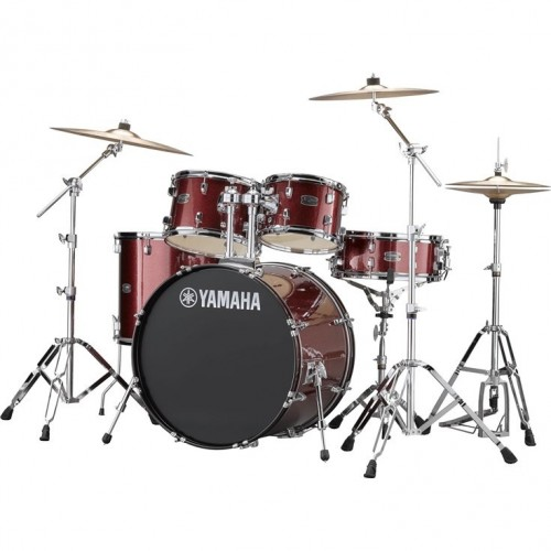Yamaha RYDEEN Drum kit RDP2F5BGG (Burgandy Glitter) - with Hardware GM2F53A, without cymbals