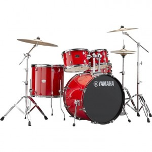 Yamaha RYDEEN Drum kit RDP2F5HR (Hot Red) - with Hardware GM2F53A, without cymbals