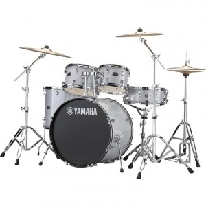 Yamaha RYDEEN Drum kit RDP2F5SG (Silver Glitter) - with Hardware GM2F53A, without cymbals