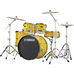 Yamaha RYDEEN Drum kit RDP2F5MY (Mellow Yellow) - with Hardware GM2F53A, without cymbals