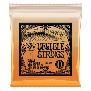 Concert/Soprano Nylon Ball-End Ukulele Strings - Clear - P02329