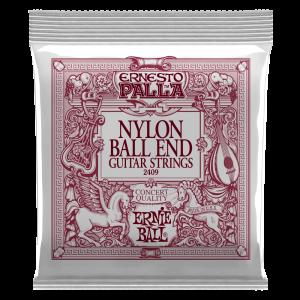 Ernie Ball Ernesto Palla Black & Gold Ball-End Nylon Classical Guitar Strings - P02409
