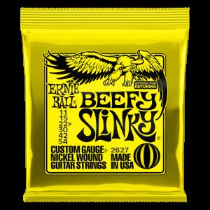 Beefy Slinky Nickel Wound Electric Guitar Strings - 11-54 Gauge - P02627