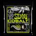 Ernie Ball Regular Slinky Cobalt Electric Guitar Strings 3 Pack - 10-46 Gauge- P03721