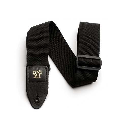 Ernie Ball Black Polypro Guitar Strap -P04037
