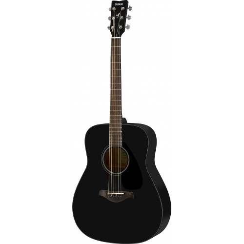 Yamaha FG800 Dreadnought Acoustic Guitar - Black