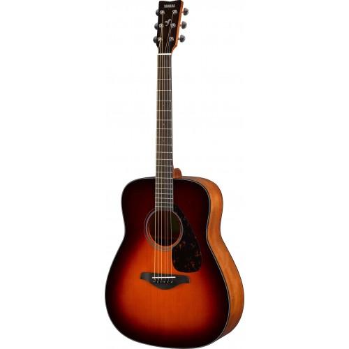 Yamaha FG800BS Acoustic Guitar-Brown Sunburst