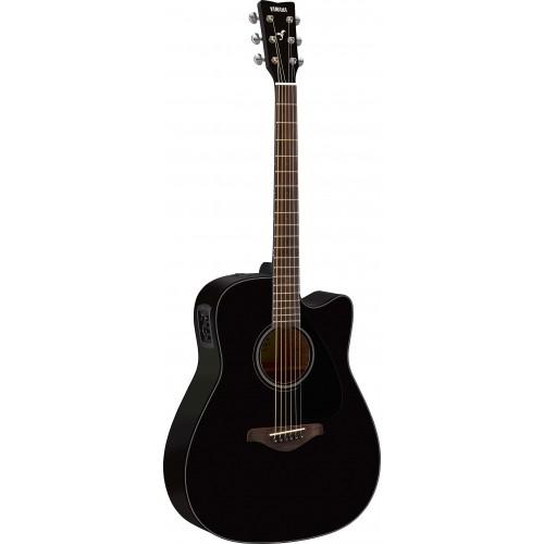 Yamaha FGX800C Acoustic Electric Guitar-Black