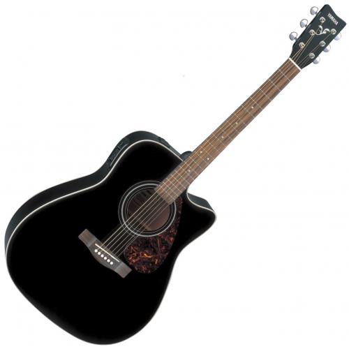 Yamaha FX370C BL Acoustic Electric Guitar-Black