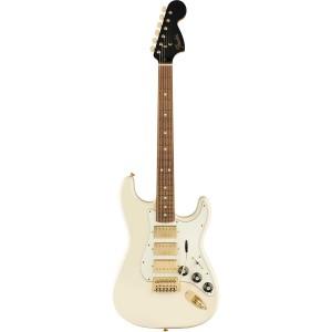 Fender Mahogany Blacktop Stratocaster 3H- Olympic White