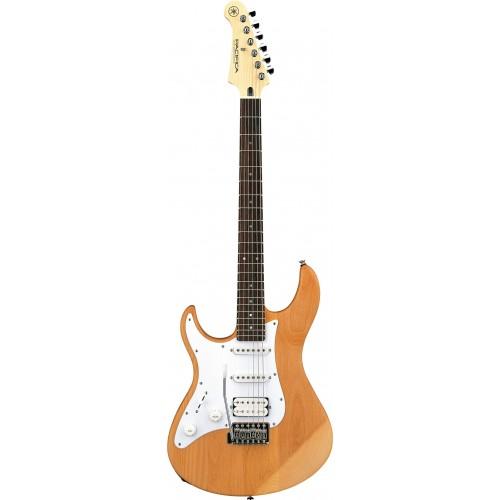 Yamaha PAC112JL Electric Guitar YNS-Yellow Natural Satin