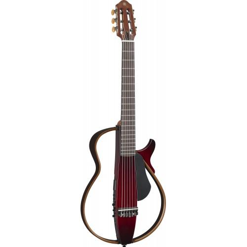 Yamaha SLG200NCRB Silent Guitar(Crimson Red Burst)