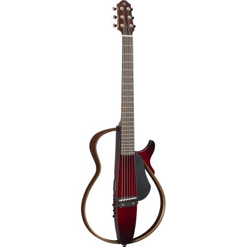 Yamaha SLG200SCRB Silent Guitar(Crimson Red Burst)