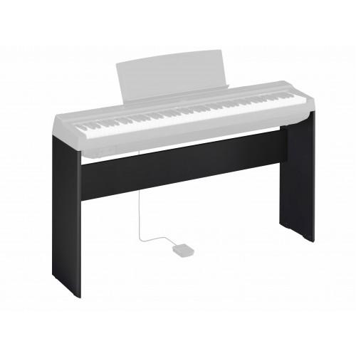 Yamaha L-125B Wooden Keyboard Stand for P-125 Keyboard - Black