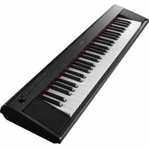 Yamaha NP-12B 61 Keys Portable Piano-Style Keyboard - Black